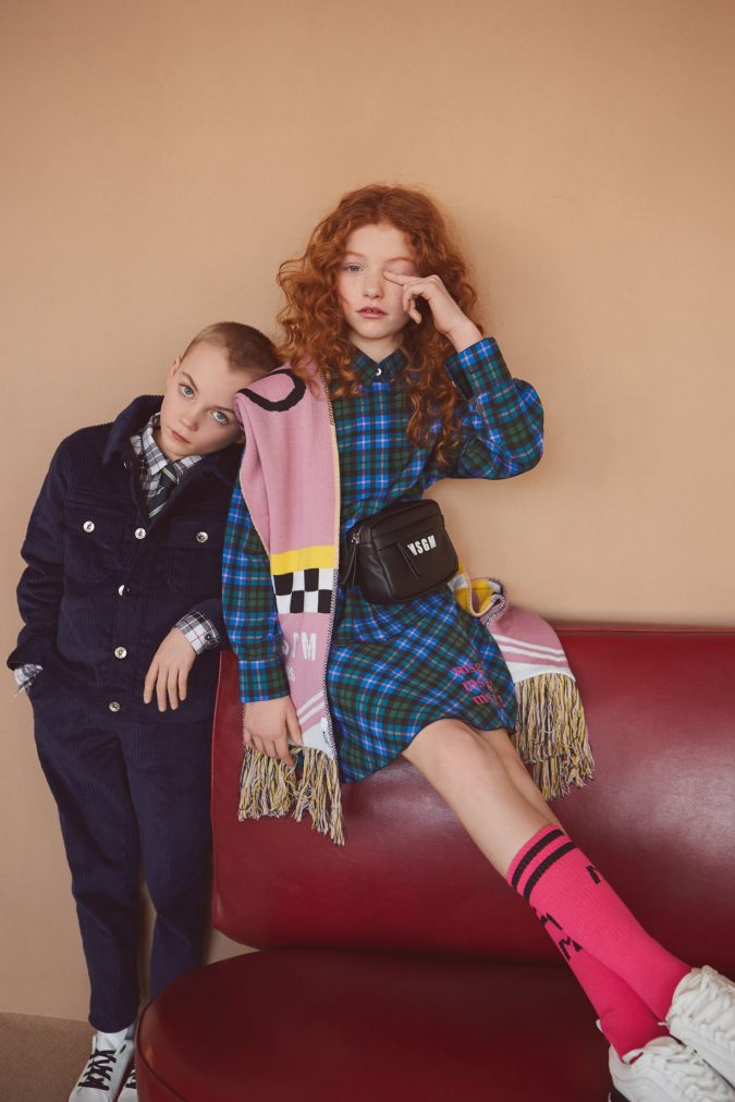 fall-winter-fashion-2020-kids-checked-dress-shirt-MSGM-675x1012 15 Cutest Kids Fashion Trends for Winter 2020
