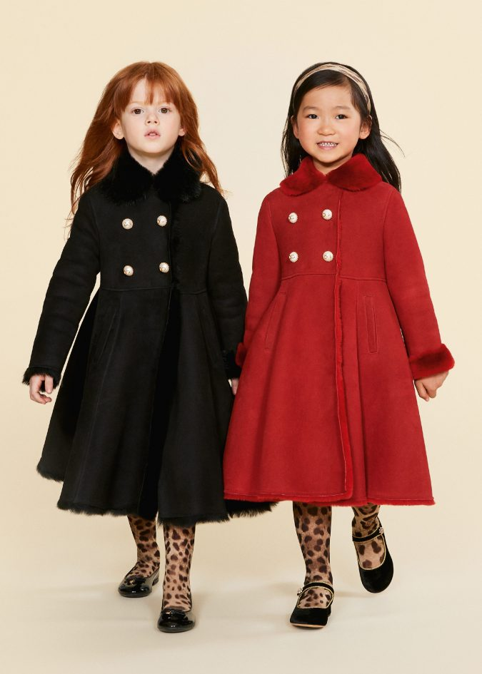 fall-winter-fashion-2020-kids-coats-dolce-and-gabbana-675x945 15 Cutest Kids Fashion Trends for Winter 2020