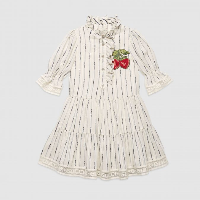 fall-winter-fashion-2020-kids-collection-striped-dress-Gucci-675x675 15 Cutest Kids Fashion Trends for Winter 2020
