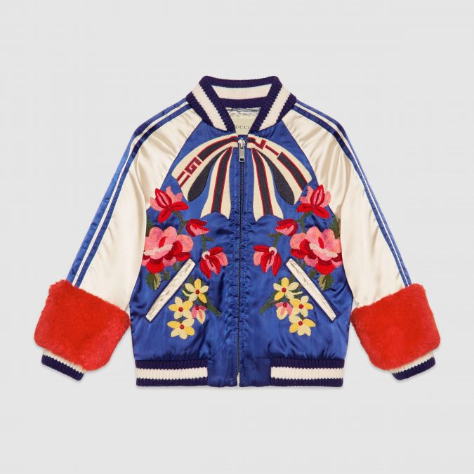 fall-winter-fashion-2020-kids-embroidered-bomber-jacket-Gucci-675x675 15 Cutest Kids Fashion Trends for Winter 2020