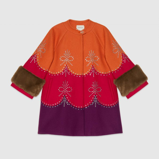 fall-winter-fashion-2020-kids-wool-coat-with-crystals-Gucci-675x675 15 Cutest Kids Fashion Trends for Winter 2020