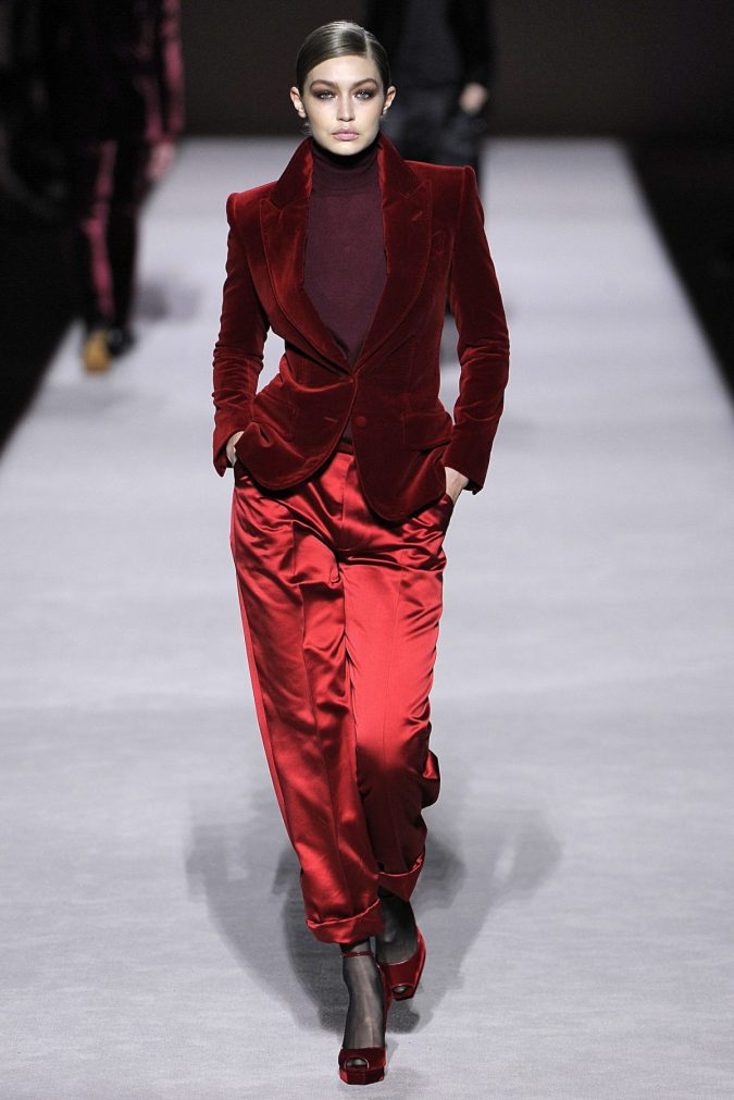 fall-winter-fashion-2020-pantsuit-velvet-jacket-satin-loose-fitting-pants-675x1011 Top 10 Winter Predictions and Trends for 2020