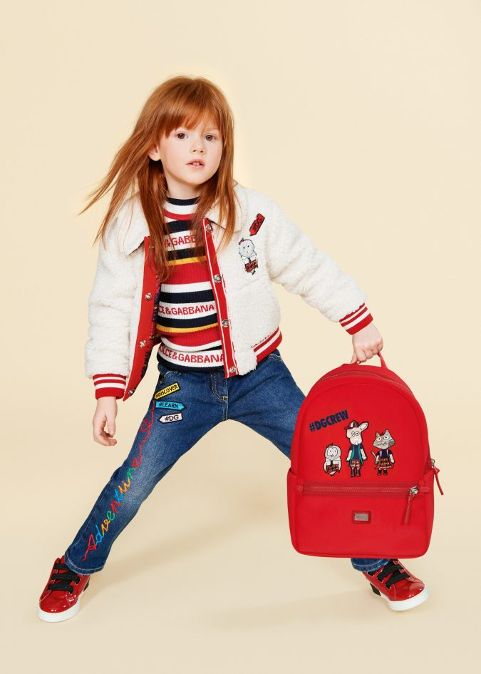 fall-winter-fashion-2020-patched-jeans-jacket-dolce-and-gabbana-675x945 15 Cutest Kids Fashion Trends for Winter 2020