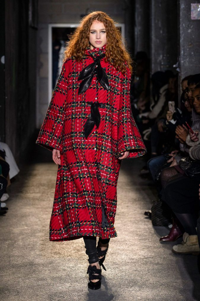 fall-winter-fashion-2020-plaid-coat-2-675x1014 Top 10 Winter Predictions and Trends for 2019/2020