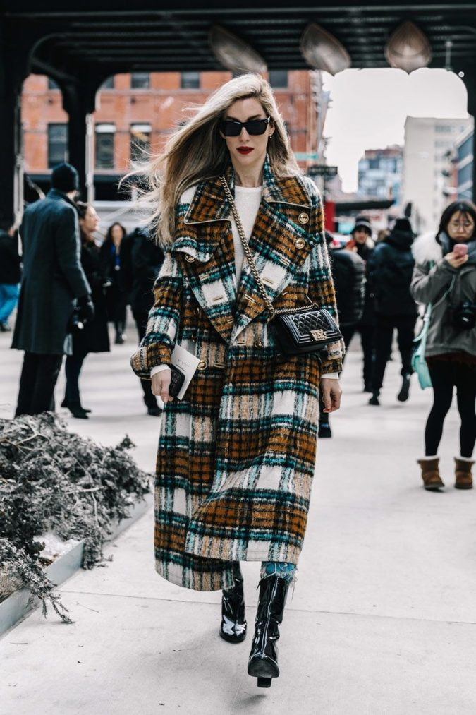 fall-winter-fashion-2020-plaid-coat-675x1013 Top 10 Winter Predictions and Trends for 2019/2020