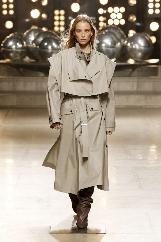 fall-winter-fashion-2020-trench-coat-Isabel-Marant-675x1012 45+ Elegant Work Outfit Ideas for Fall and Winter 2020