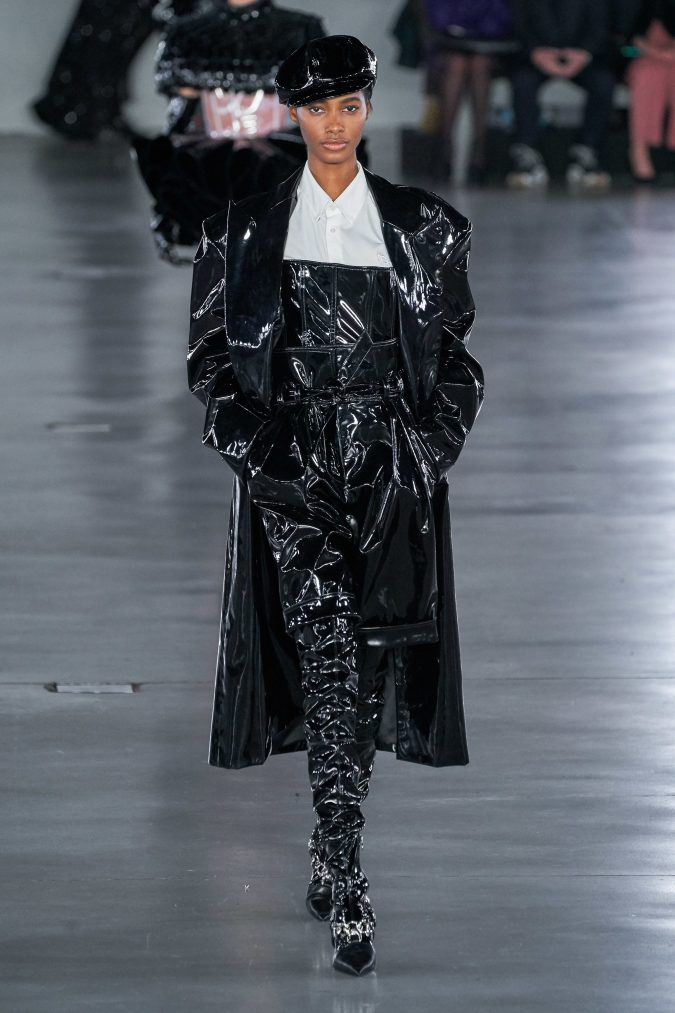 fall-winter-fashion-2020-vinyl-coat-jumpsuit-Balmain-675x1013 40+ Hottest Teenage Girls Fall/Winter Fashion Ideas in 2020