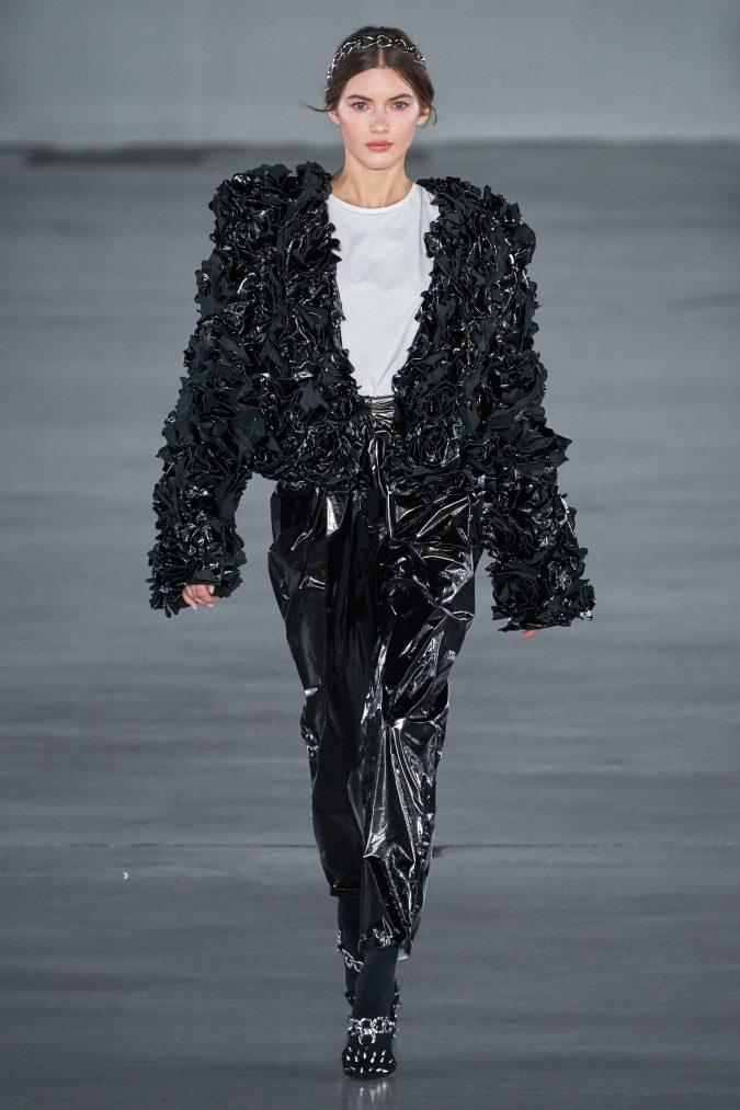 fall-winter-fashion-2020-vinyl-pants-jacket-Balmain-675x1013 40+ Hottest Teenage Girls Fall/Winter Fashion Ideas in 2020