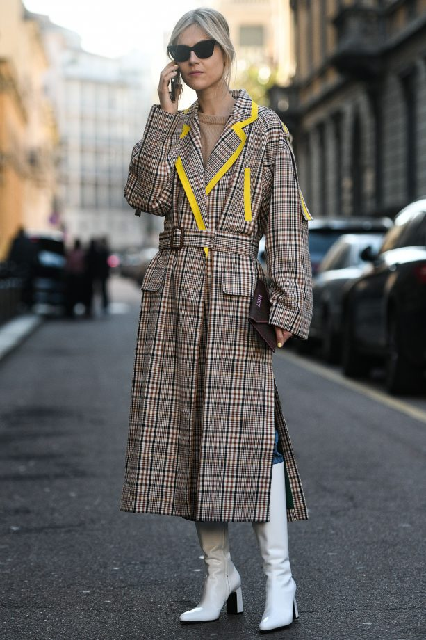 fall-winter-fashion-plaid-coat Top 10 Winter Predictions and Trends for 2019/2020