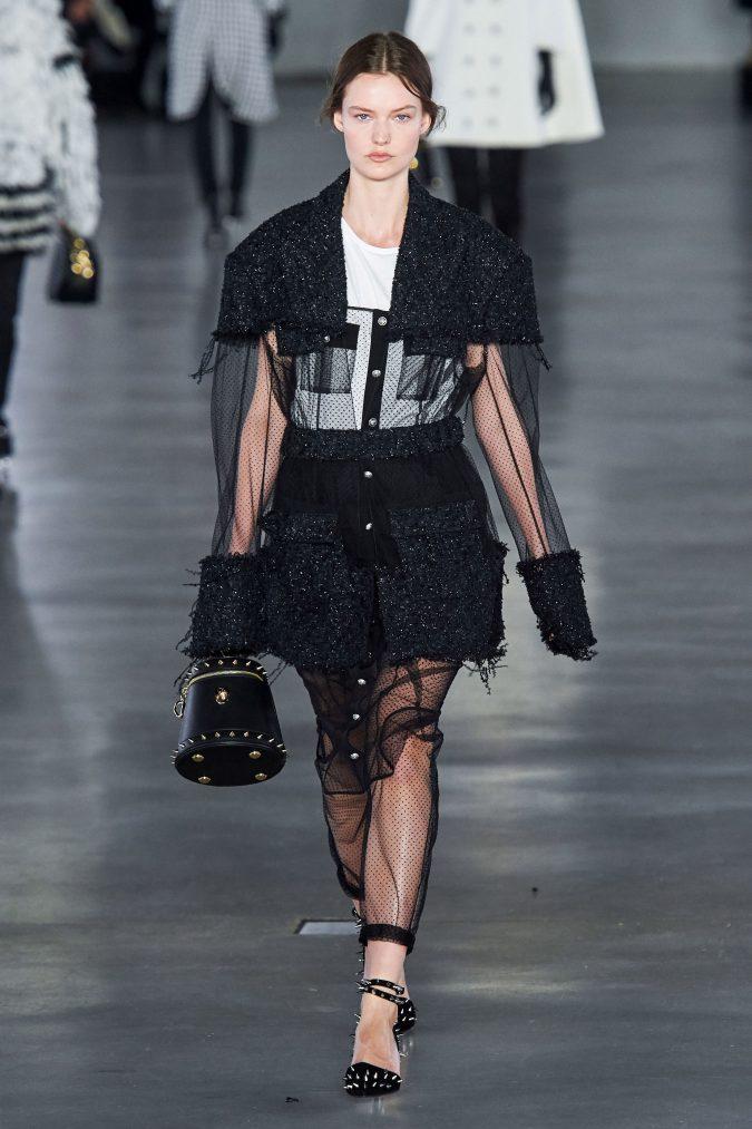 fall-winter-fashion-see-through-outfit-Balmain-675x1013 Top 10 Fashionable Winter Fashion Outfit Ideas for Teens in 2020