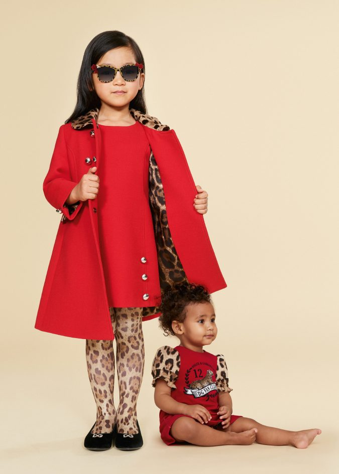 fallwinter-fashion-2020-kids-dress-and-coat-dolce-and-gabbana-675x945 15 Cutest Kids Fashion Trends for Winter 2020
