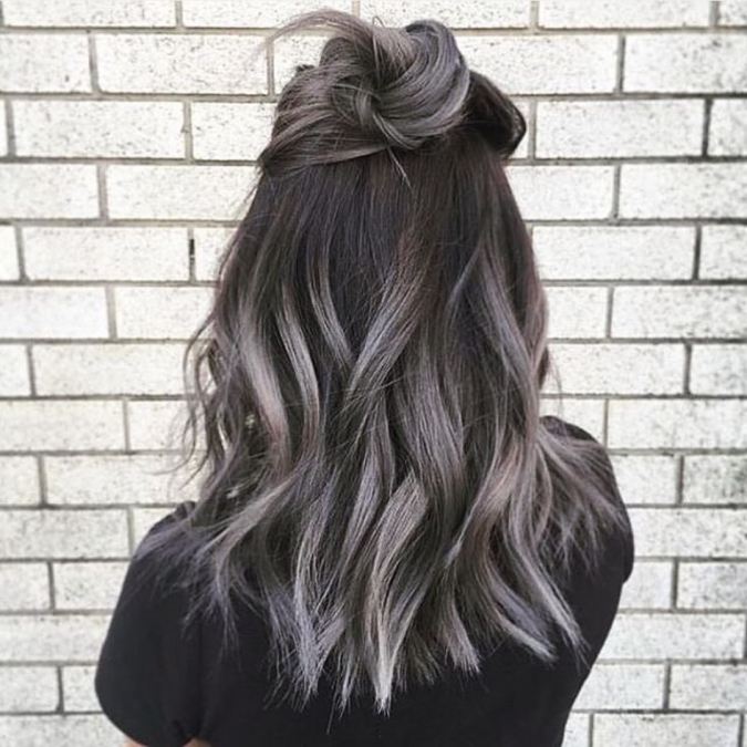 grey-and-black-hair-675x675 12 Hottest Fall/Winter Hair Color Ideas for Women 2020