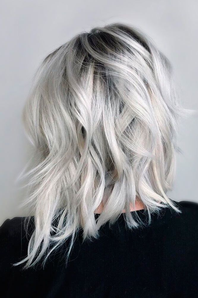 grey-hair 12 Hottest Fall/Winter Hair Color Ideas for Women 2020