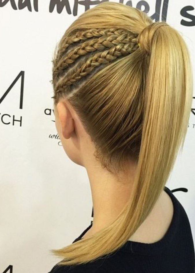 high-ponytail-hairstyle-675x943 20 Mind-blowing Fall / Winter Hairstyles for Women in 2021
