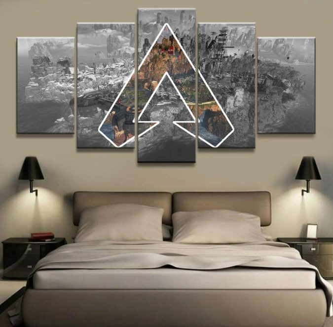 home-decor-bedroom-wall-Artwork-675x662 Make Your Home Look Classy On a Budget with These Tips