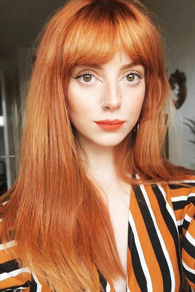 light-red-hair 12 Hottest Fall/Winter Hair Color Ideas for Women 2020