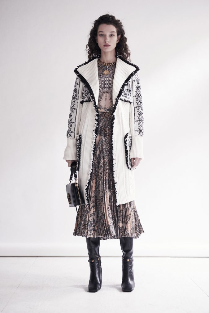pre-fall-2019-pleated-dress-coat-roberto-cavalli-675x1013 Top 10 Winter Predictions and Trends for 2019/2020