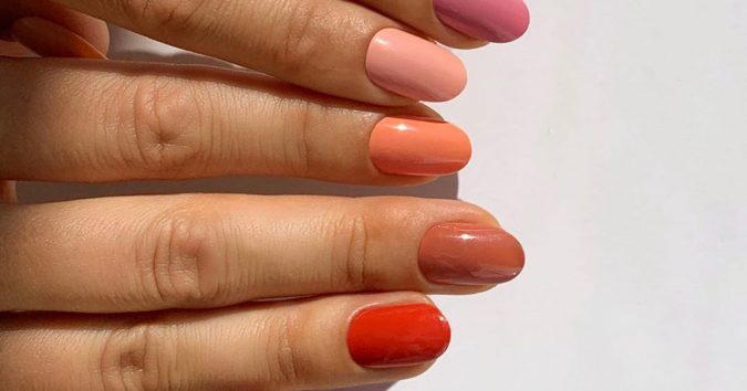 spicy-nails-675x354 10 Lovely Nail Polish Trends for Fall & Winter 2020