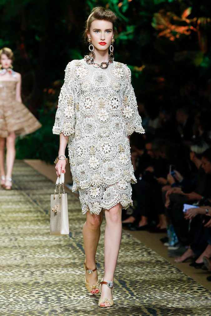 spring-summer-fashion-2020-floral-dress-Dolce-and-Gabbana-2-675x1013 120+ Lovely Floral Outfit Ideas and Trends for All Seasons 2020