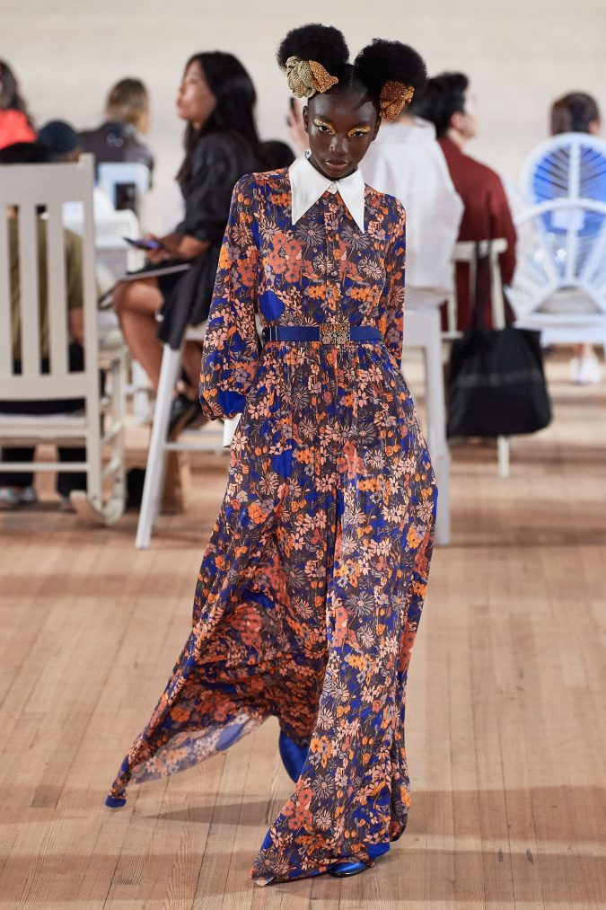 spring-summer-fashion-2020-floral-dress-Marc-Jacobs-675x1013 120+ Lovely Floral Outfit Ideas and Trends for All Seasons 2020