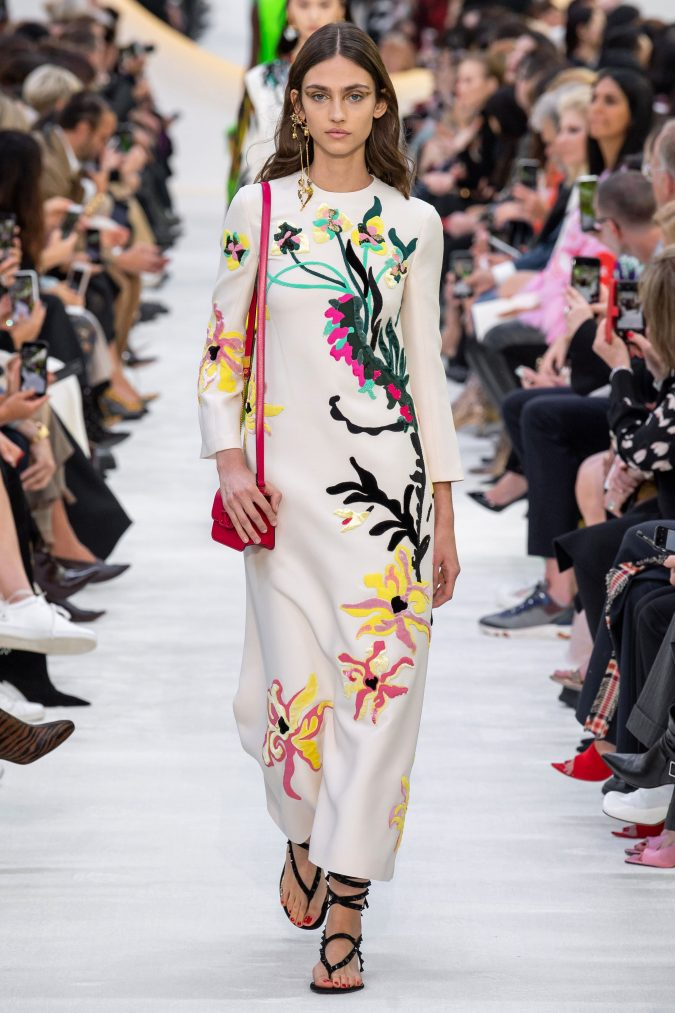 spring-summer-fashion-2020-floral-dress-valentino-675x1013 120+ Lovely Floral Outfit Ideas and Trends for All Seasons 2020