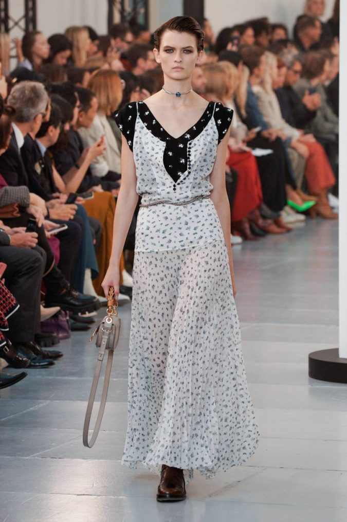 spring-summer-fashion-2020-floral-over-floral-dress-chloe-675x1015 120+ Lovely Floral Outfit Ideas and Trends for All Seasons 2020