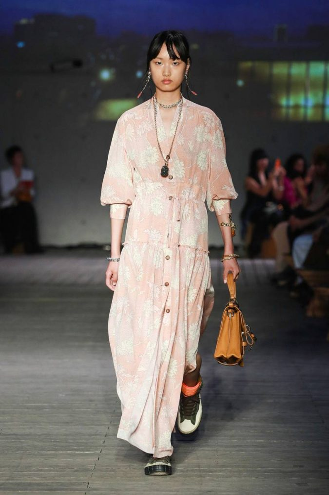 spring-summer-resort-2020-boho-floral-dress-chloe-2-675x1013 120+ Lovely Floral Outfit Ideas and Trends for All Seasons 2020