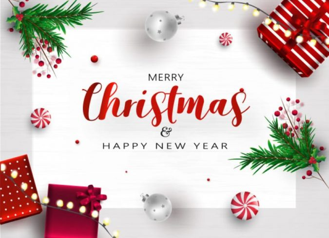 Christmas-and-new-year-greeting-card-2-675x488 75+ Latest Happy New Year Greeting Cards for 2020