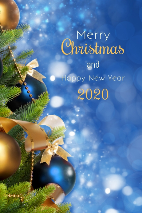 Christmas-and-new-year-greeting-card 75+ Latest Happy New Year Greeting Cards for 2020