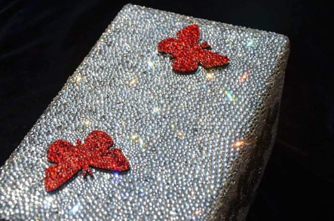 Christmas-decoration-Rebekah-Chol-Swarovski-wrapping-paper-Star-Mail-675x447 Top 15 Most Expensive Christmas Decorations
