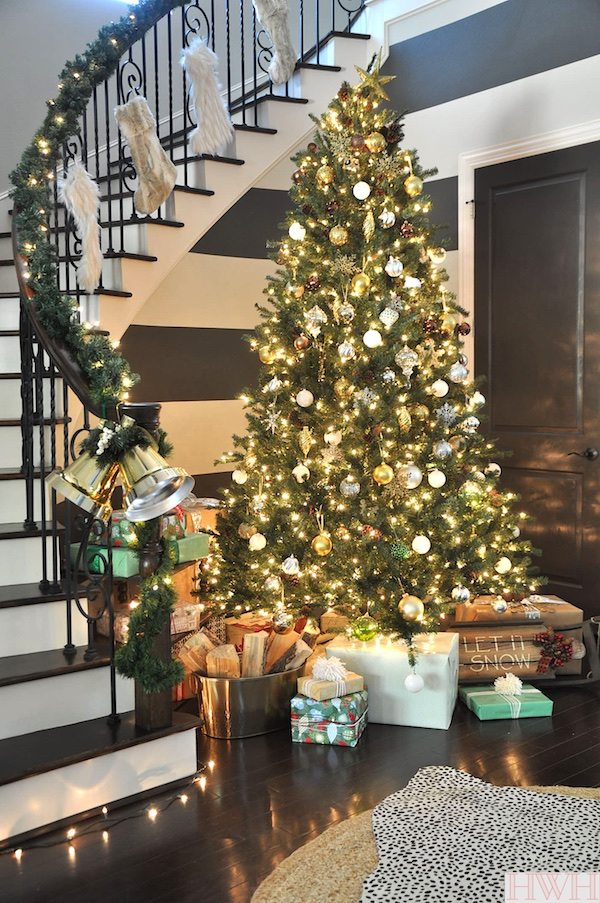 Christmas-decoration-faux-fur-stockings-6 50+ Hottest Christmas Decoration Ideas for 2020