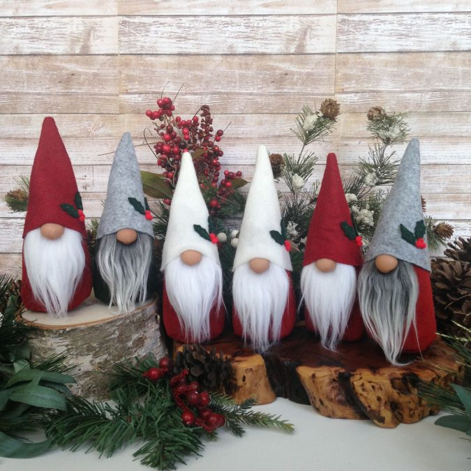 Christmas-gnomes-decoration-675x675 50+ Hottest Christmas Decoration Ideas for 2020