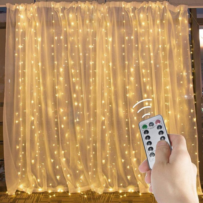 Curtain-string-lights-675x675 Top 15 Fabulous Teen's Christmas Gifts for 2021