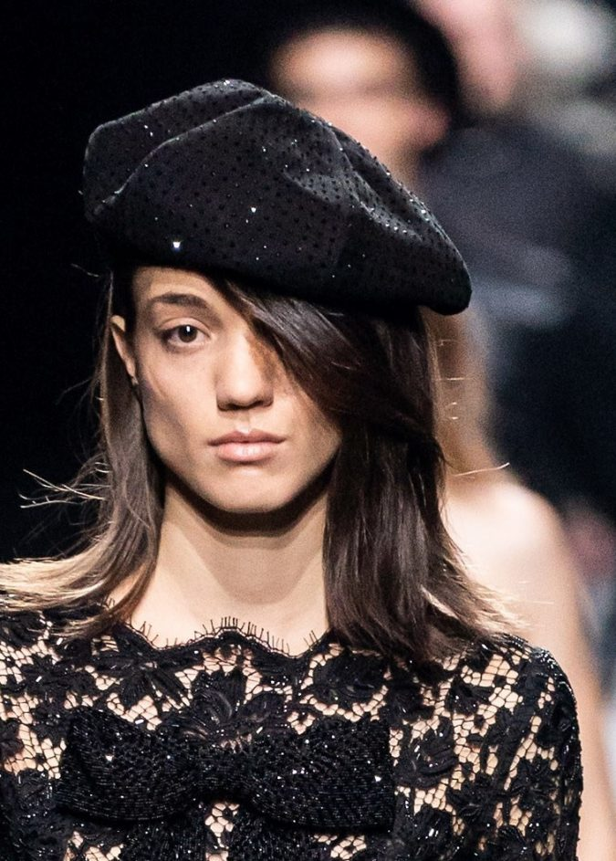 Fall-winter-fashion-2020-beret-Saint-Laurent-675x943 10 Elegant Women's Hat Trends For Winter 2020