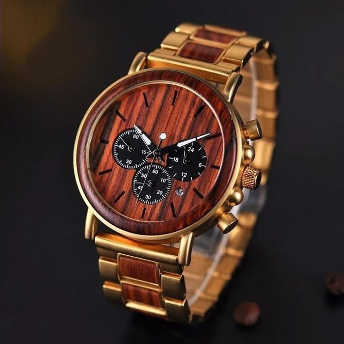 Gold-Wooden-Watch-675x675 Top 15 Most Expensive Christmas Gifts Worldwide