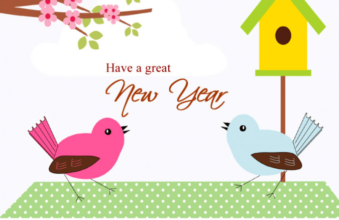 New-Year-cartoon-greeting-card-675x438 75+ Latest Happy New Year Greeting Cards for 2020