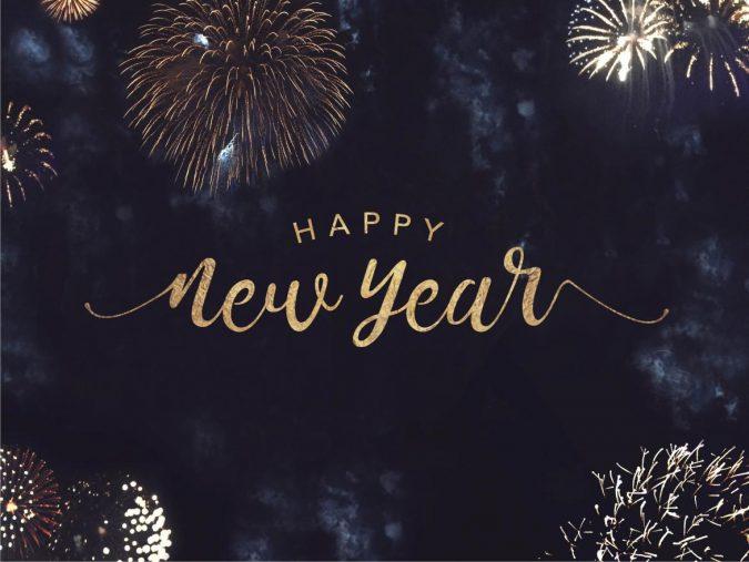 New-Year-greeting-card-2020-fireworks-675x507 75+ Latest Happy New Year Greeting Cards for 2021