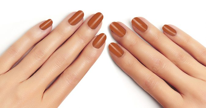 Spice-nails-675x354 10 Lovely Nail Polish Trends for Fall & Winter 2020
