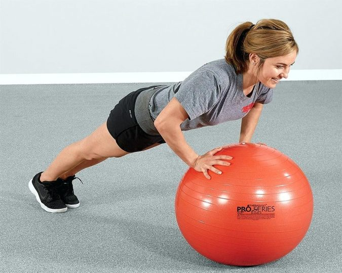 Thera-Band-exercise-and-stability-ball.-675x540 Top 15 Best Home Gym Equipment to Get Fit