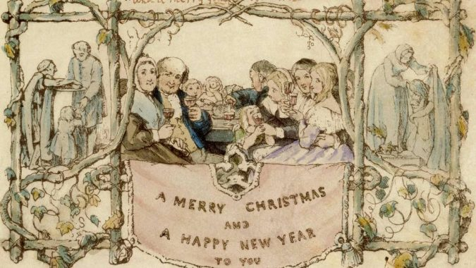 Victorian-Christmas-card-675x380 75+ Latest Happy New Year Greeting Cards for 2020