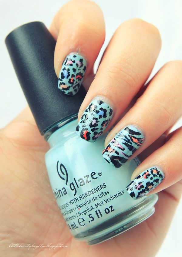 animal-prints-nail-art Top 10 Most Luxurious Nail Designs for 2020