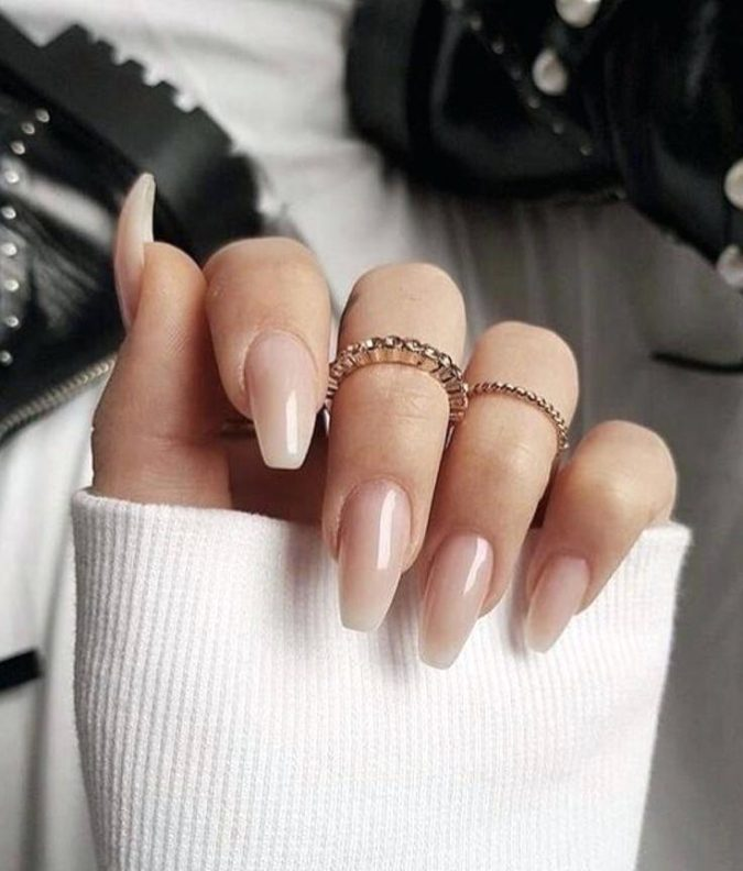 barely-there-coffin-nails-675x792 Top 10 Most Luxurious Nail Designs for 2021