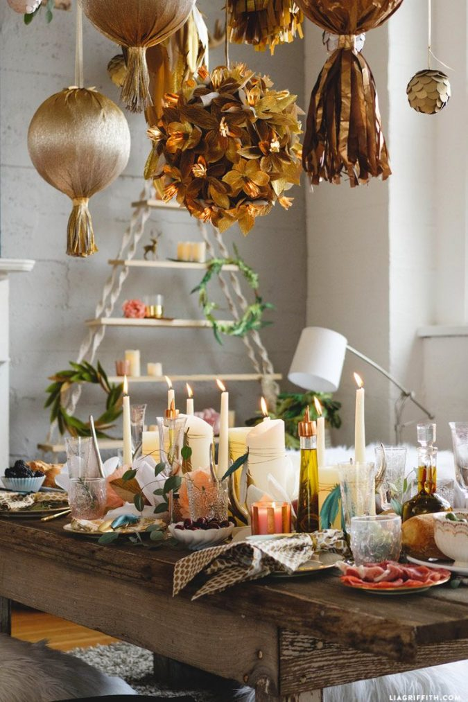 boho-new-years-eve-decoration-2-675x1013 10 Breathtaking New Year's Eve Party Decoration Trends 2020