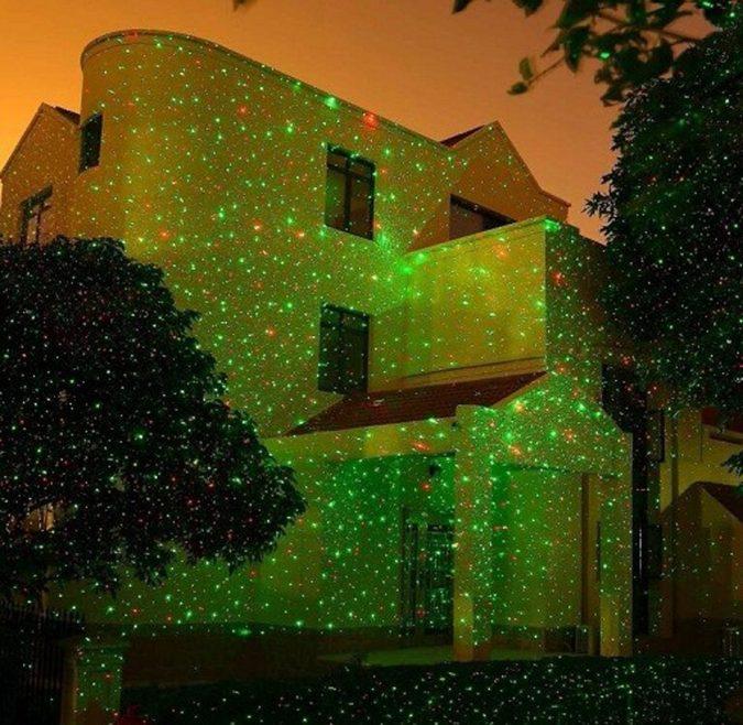 christmas-decoration-Laser-lights-2-675x658 50+ Hottest Christmas Decoration Ideas for 2021