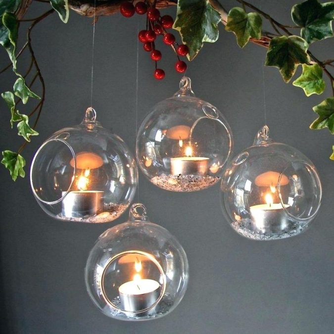 christmas-decoration-hanging-tea-lights-675x675 50+ Hottest Christmas Decoration Ideas for 2020