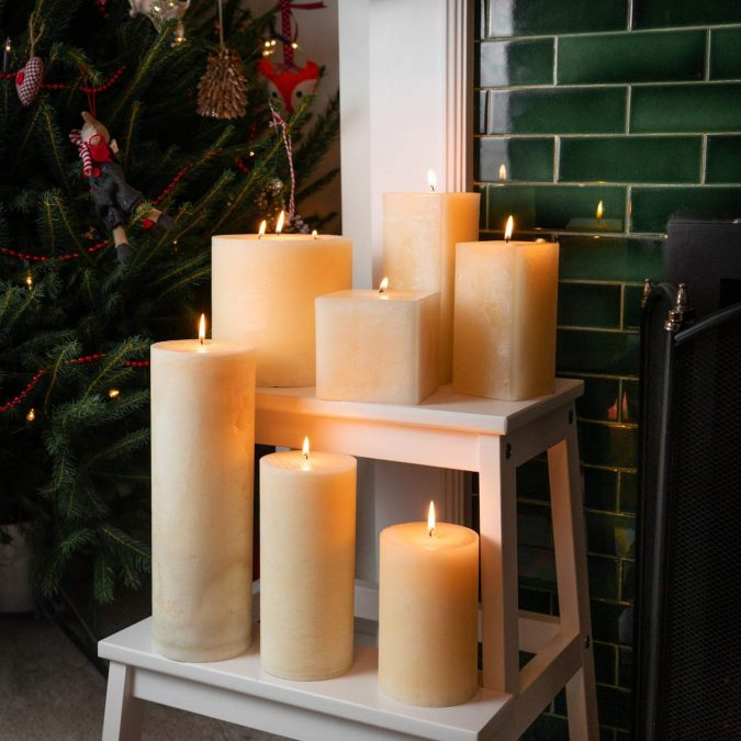 christmas-decoration-scented-candles-675x675 50+ Hottest Christmas Decoration Ideas for 2021