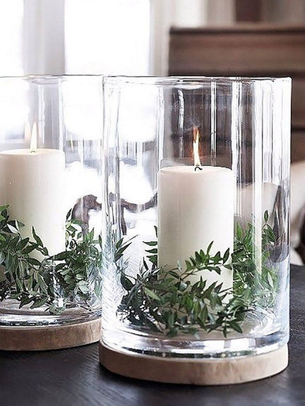 christmas-decorations-candles 50+ Hottest Christmas Decoration Ideas for 2021