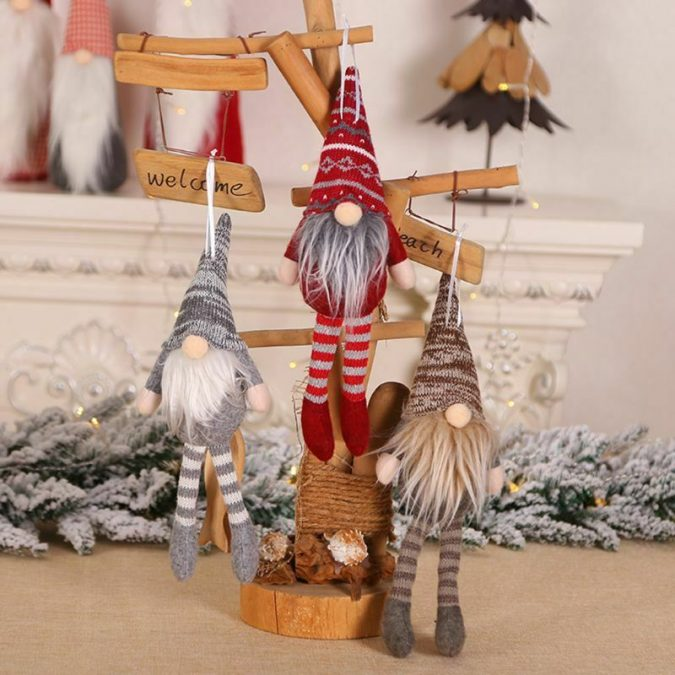 christmas-gnomes-decoration-3-675x675 50+ Hottest Christmas Decoration Ideas for 2021