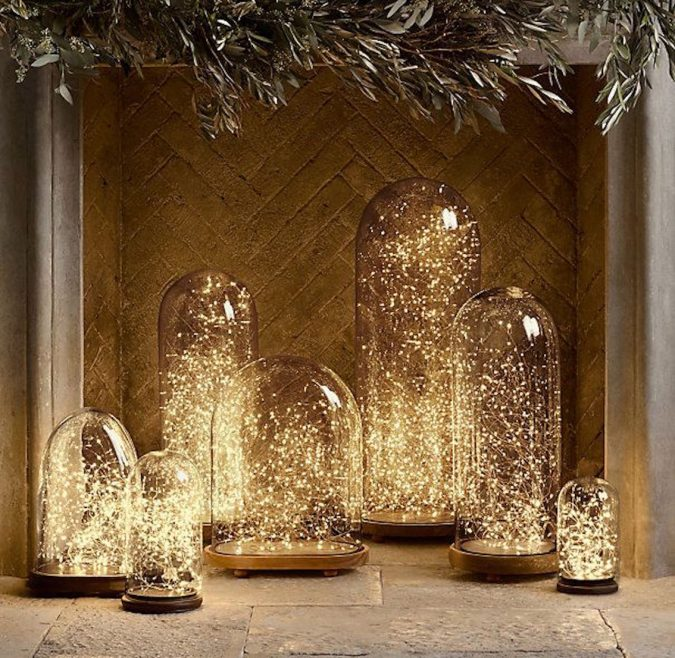 christmas-string-lights-decoration-675x658 50+ Hottest Christmas Decoration Ideas for 2020