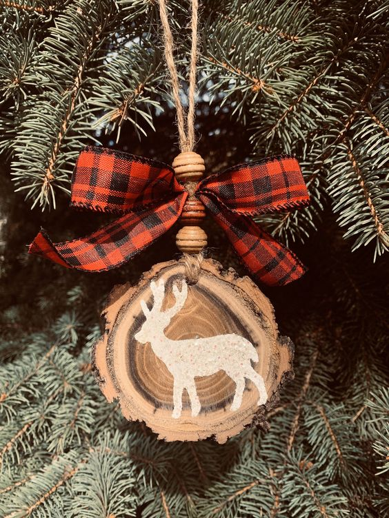 christmas-tree-wooden-ornament 50+ Hottest Christmas Decoration Ideas for 2020